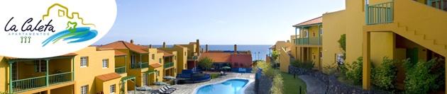 La Caleta Apartamentos. Breña Baja. La Palma - Un complejo de 62 apartamentos, todos orientados de manera estratégica hacia el sur, buscando toda la influencia del sol ya su vez con acceso directo a la piscina