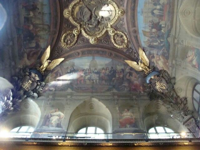 One of the Majestic ceilings