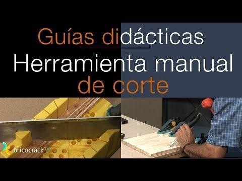 Cortar madera con herramientas manuales (Bricocrack) – YouTube