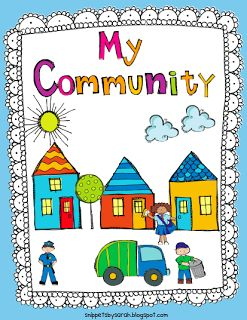 Sarah's First Grade Snippets: Communities Unit                                                                                                                                                                                 More