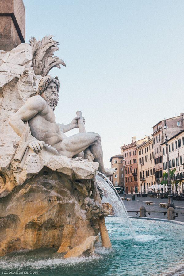 15 minutes walk from JCU, Piazza Navona