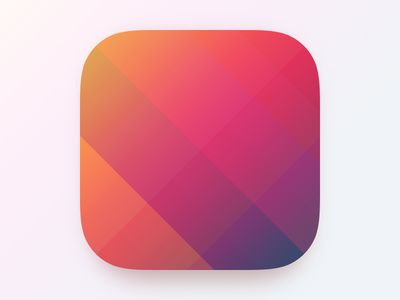 This is just a block of gradient colors and shapes. There is no designs or logos. This is almost a background for a design for the app.