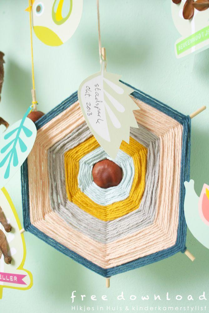 Lovely #free download #nursery   Hikjes in Huis via Kinderkamerstylist