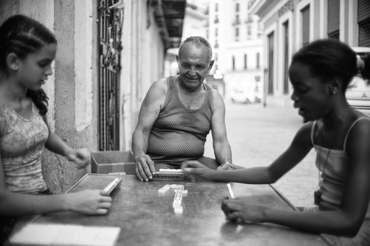 Street games in Havana..