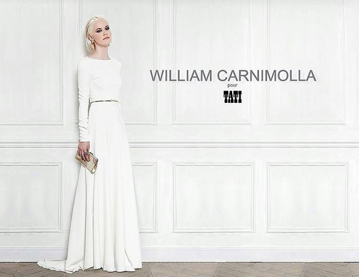 william carnimolla tati mariage, mariée, bride, mariage, wedding, robe mariée, wedding dress, white, blanc