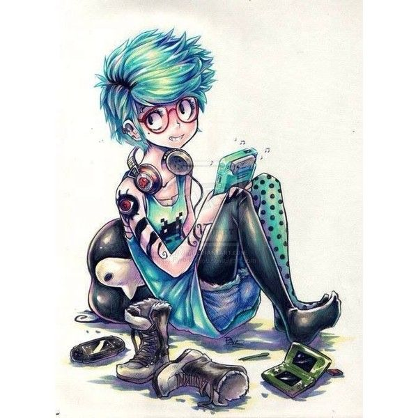 Emo/Scene/Indie & more ♥ ❤ liked on Polyvore featuring drawings, pictures, random and filler
