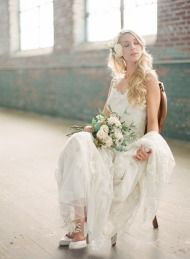 Bridal Warehouse Shoot + WIUP - Style Me Pretty
