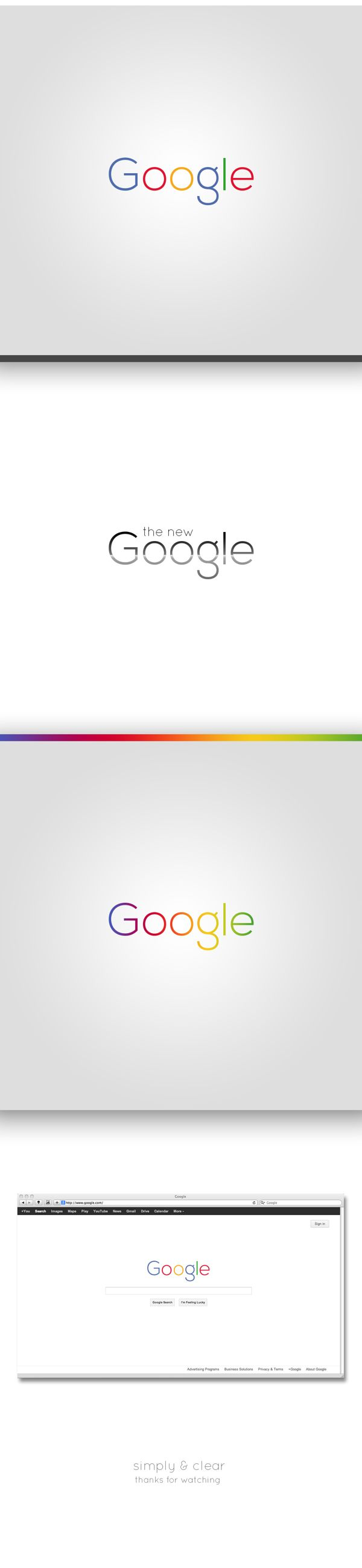 Google logo (Rebrand Concept) | Designer: Philipp Bloch... really well done!