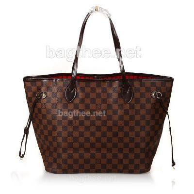 Louis Vuitton 1:1 Grade Damier Ebene Canvas Neverfull Bag MM SKU:163278