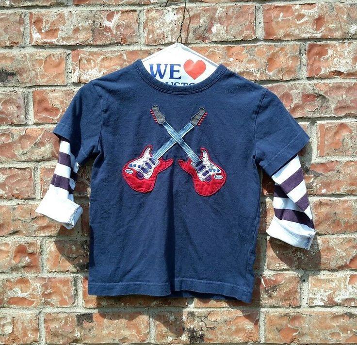 Mini Boden Boy's Shirt Cotton Kids Pullover Shirt Guitar Rock T Shirt Size 5/6Y | Clothing, Shoes & Accessories, Kids' Clothing, Shoes & Accs, Boys' Clothing (Sizes 4 & Up) | eBay!