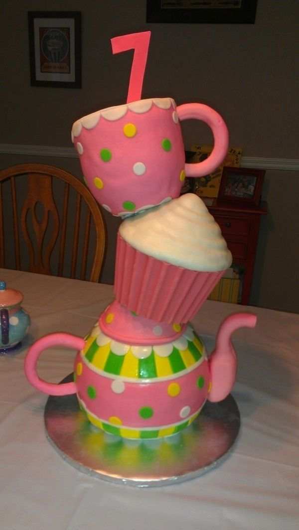 20 best cakes for 7 year old girls images on Pinterest Birthday