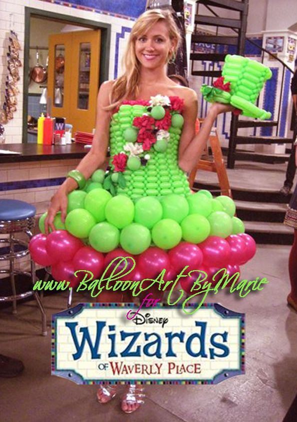 Balloon Dress as appeared on Disney's Wizards of Waverly Place