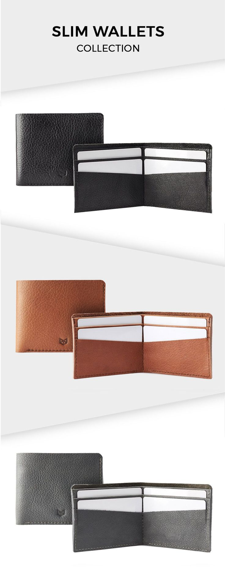 Modern men love minimalist wallet so this handmade leather bifold will be the perfect gift ; whether he is your husband, boyfriend, father, or brother.   This full grain leather wallet is one good quality with a great design that matches perfectly with your vintage style.