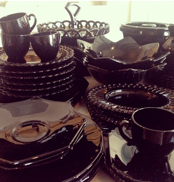 Black amethyst dishes & 27 best Collectables - Black Amethyst images on Pinterest | Black ...