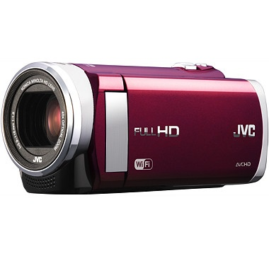 JVC Everio GZ-EX210 1080p HD Camcorder with Wi-Fi, 6' HDMI Cable, 4GB SD Card and Carrying Case #ilovetoshop