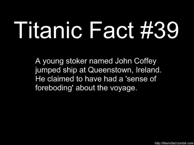 Titanic Fact #39