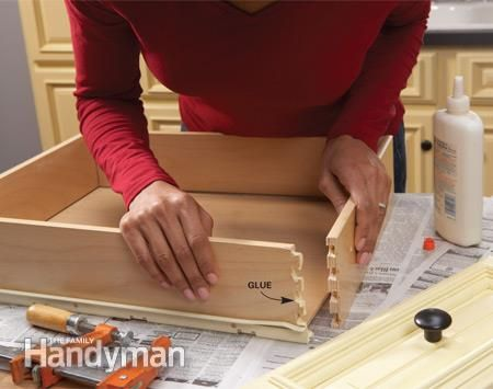 Home Repair  How to Fix Kitchen Cabinets. 118 best Furniture Repair images on Pinterest