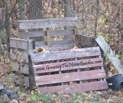 Composter From Pallets