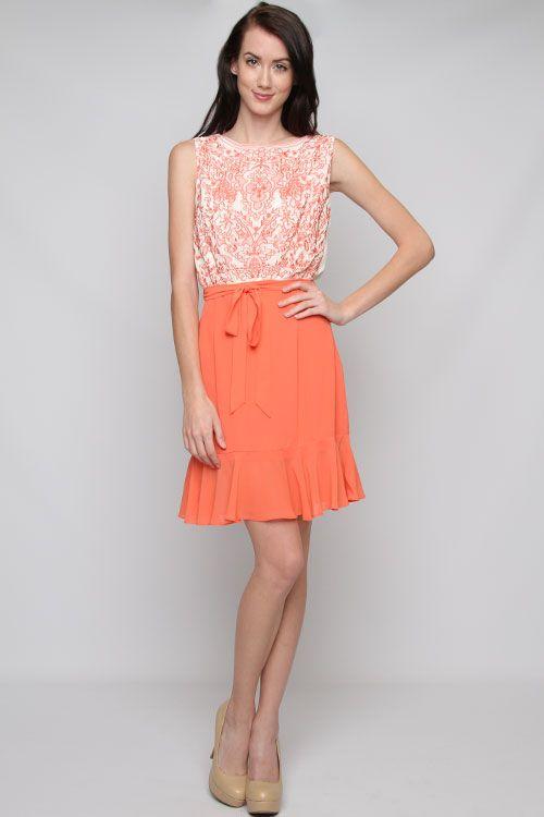 Embroidered Danika Dress