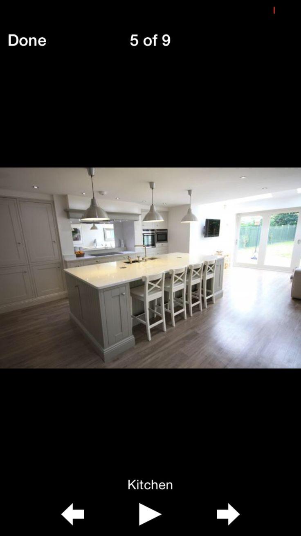 My painted kitchen: hardwick White and Cornforth White