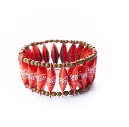I would actually wear this. In a perverted way, it is pretty cool. (Did I just say that coca-cola was cool??!! Maybe not, but the artist behind this is.)  20. Eco or recycled fashion item  #ByNature.ca #Pin2Inspire