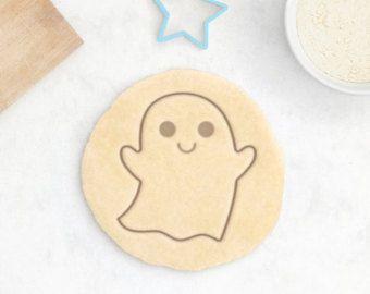 Taglierina del biscotto di fantasma - Halloween biscotti caramelle spaventoso fantasma carino fondente Cutter comiche di discorso bolla gatto nero fondente frese cappello della strega