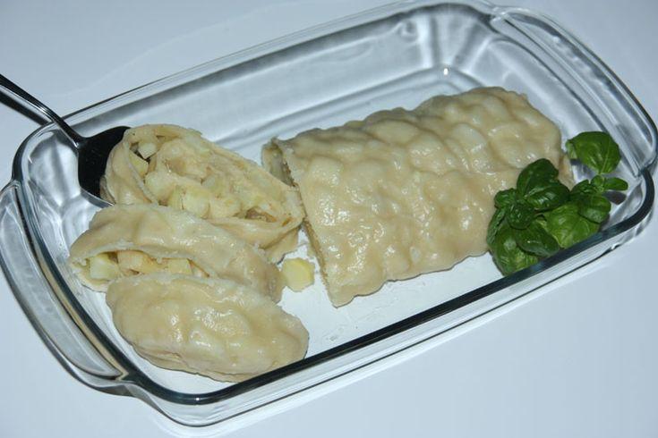 Gedämpfte russische Kartoffelrolle Rulet c kartoschkoj na paru - Рулет с картошкой на пару - Russische Rezepte