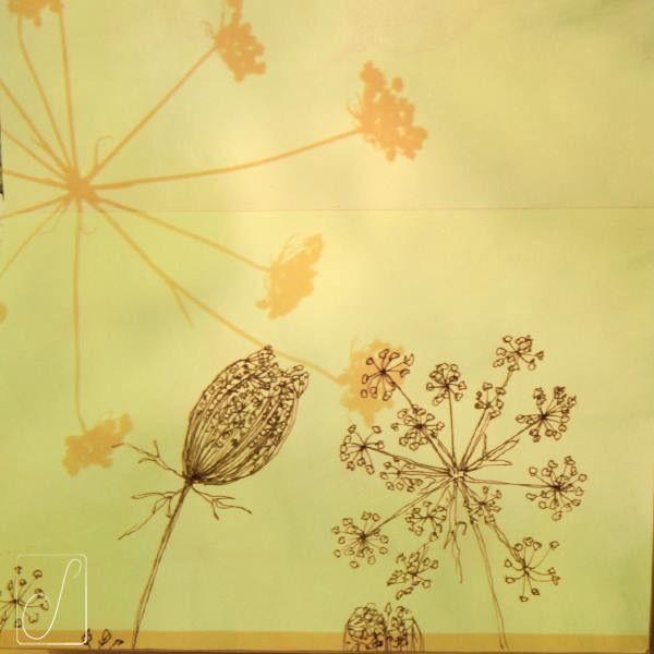 #unabellagiornata 291/365  #inktober2017 giorno 19  Daucus carota - La mia preferita, dopo la fecondazione dei fiori si chiude a nido d'uccello per cullare i semi con i venti estivi. #inktober  #inktoberaduntratto #erbologiababbana #erbarium #sketchbook #shadow #wildflowers