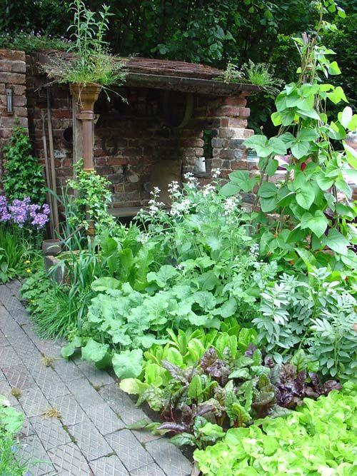 Edible Landscaping: vegetable garden | jardin potager | bauerngarten | köksträdgård
