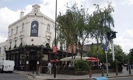 The White Horse Pub (aka Sloney Poney)    1-3 Parsons Green  London SW6 4UL, United Kingdom  020 7736 2115