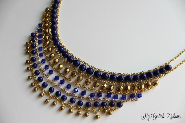How to Make a Statement Necklace