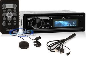 Pioneer DEH-80PRS Audiophile CD/MP3/USB Car Stereo w/ Bluetooth