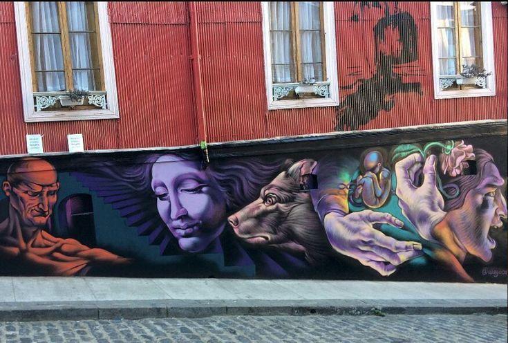 Diego Cacamut Eresmas for  Hotel Da Vinci, Valparaíso, 2017, Chile, 2017