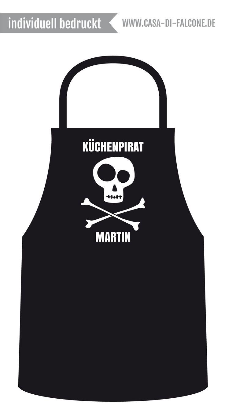 Personalisierte Kinderschürze I personalized apron for kids I www.casa-di-falcone.de
