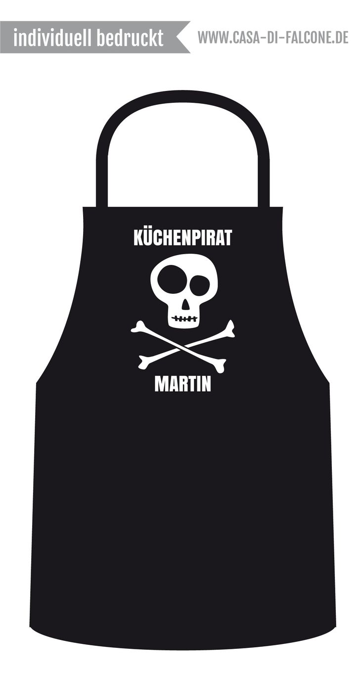 Personalisierte Kinderschürze I personalized apron for kids I www.casa-di-falcone.de