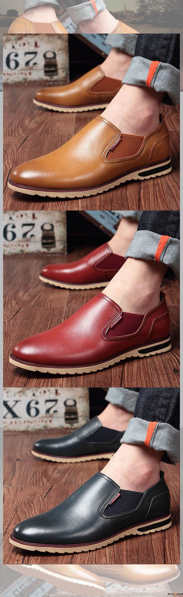 US$43.89+ Free Shipping Men slip on, casual comfortable shoes, oxford shoes. 5 colors available. Fashion and chic, casual shoes, men's oxford shoes, flats, slip on, men's style, chic style, fashion style. Shop at banggood with super affordable price. #m