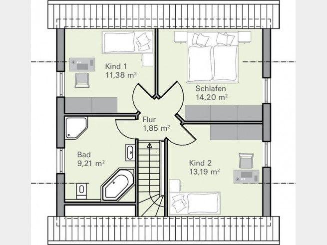270 besten Haus Pläne Bilder auf Pinterest Haus pläne - badezimmer grundriss planen
