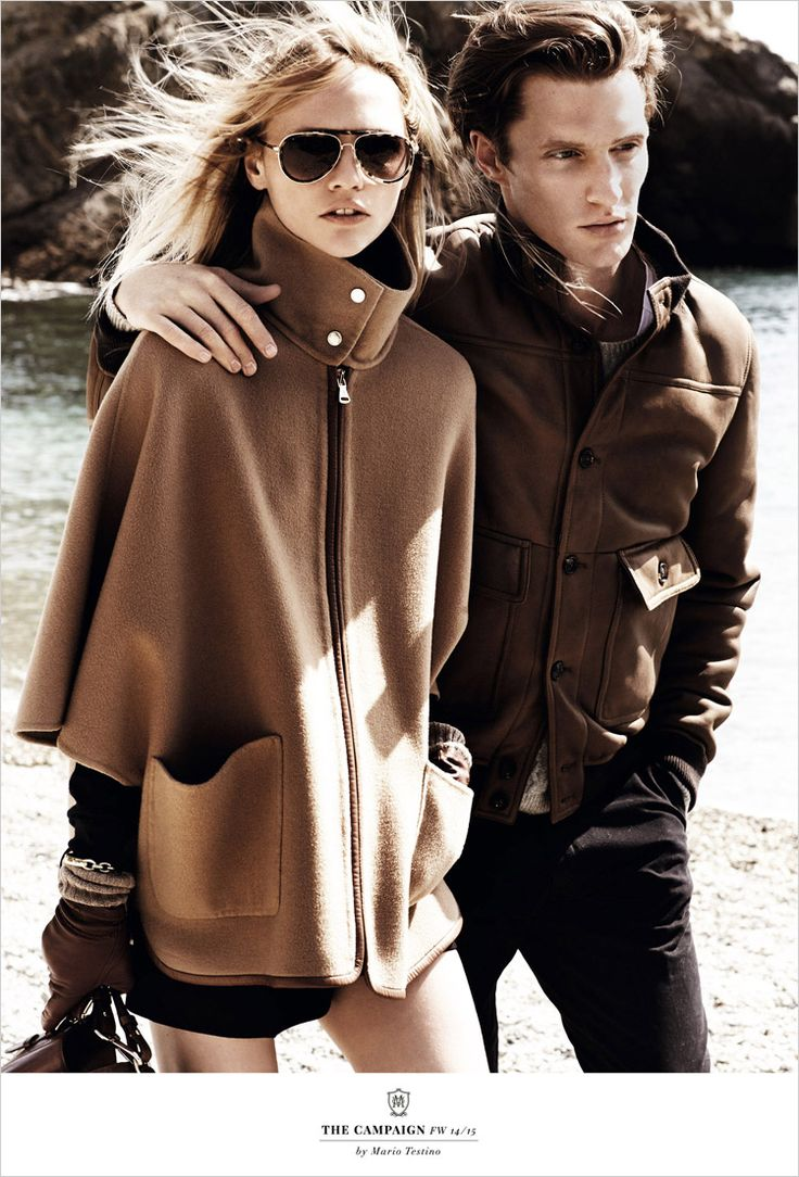 Massimo Dutti Fall Winter 2014 by Mario Testino