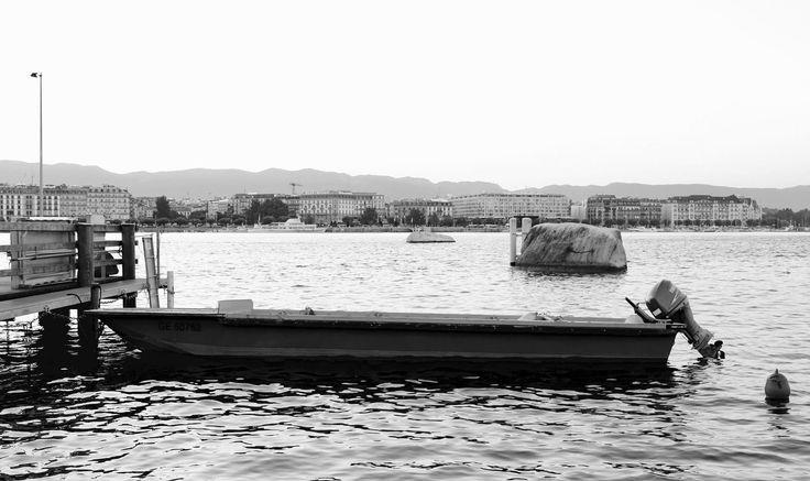 https://flic.kr/p/Csg8NE | Geneva Switzerland boat | Travel Europe without visas GENEVA SWITZERLAND The fountain JET-D'O was wet under it
