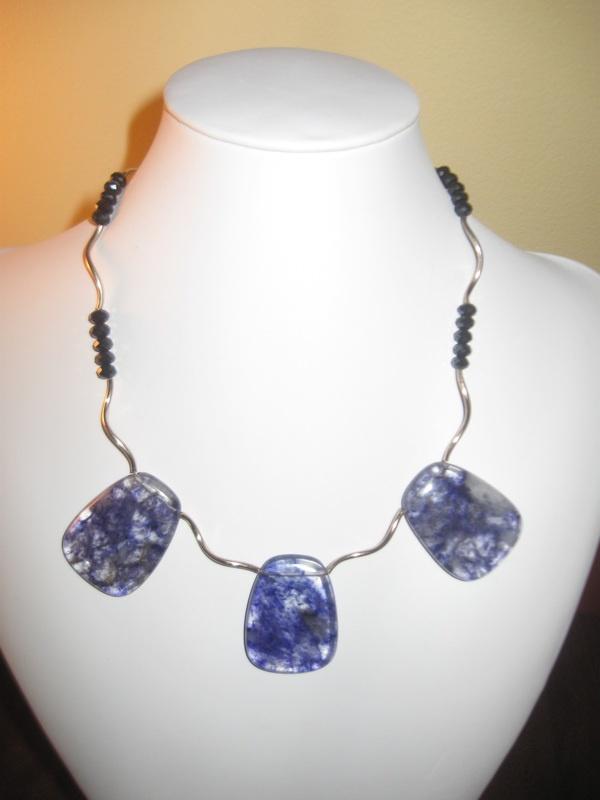 Blueberry quartz, my own creation.