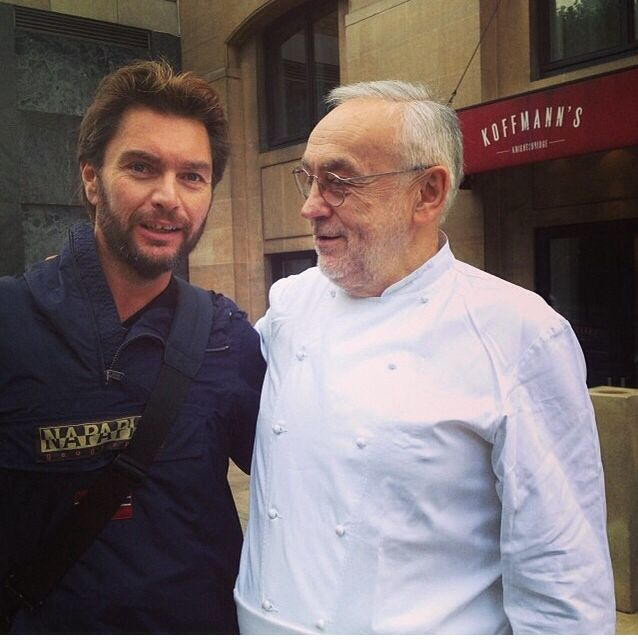 Pierre Koffmann. A Great Chef and A Great Personality!
