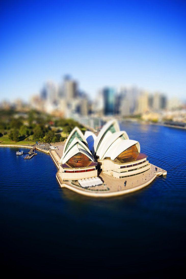 Tilt shift Sydney