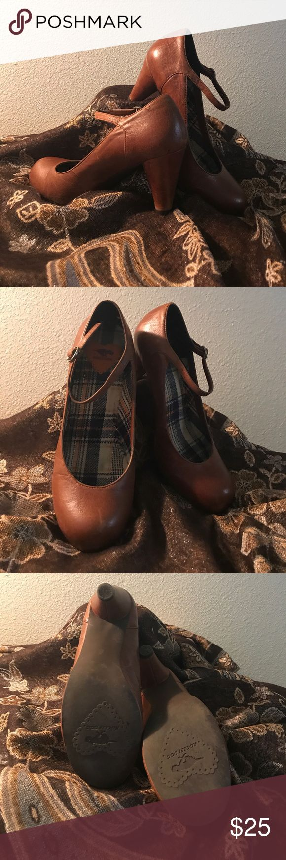 """Like new Rocket Dog leather shoes These were loved used shoes 3"""" heel in great condition  Rocket Dog Shoes"""