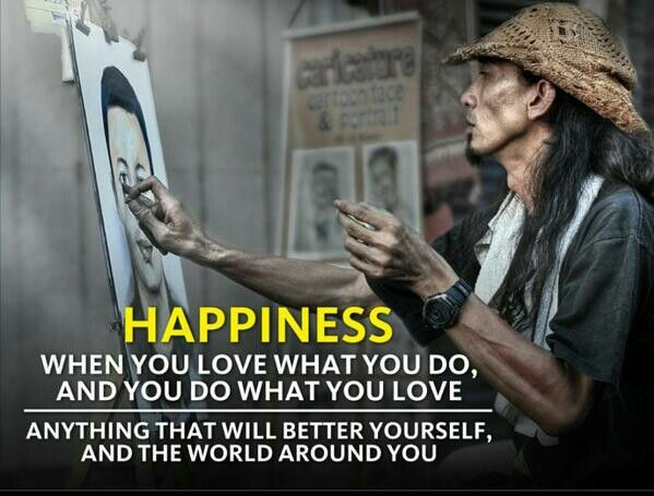 Love what you do, do what you love