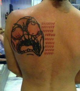Неудачные татуировки — RIZENS инфокукрсы, игры