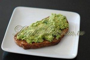 Рецепт пасты из авокадо для бутерброда