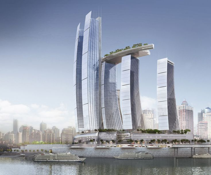 'Chongqing Chaotianmen' by Safdie Architects in Chongqing, ChinaSafdie Architects, Architecture High, Architecture Wonder, Future Architecture, Architecture Commercials, Urban Architecture, Amazing Architecture, Architecture Design, Chongqing Chaotiamen