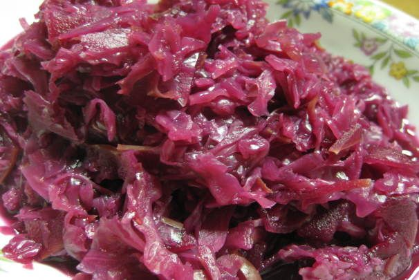 Danish Pickled Red Cabbage (Roedkaal). Photo by Charlotte J