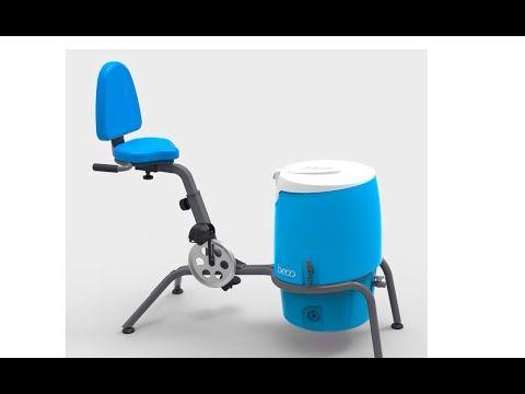 El lavarropas ecológico BECO, de las diseñadoras industriales de la UBA Eugenia Mendoza y Ornella Casoy, está pensado como una opción para llegar a usuarios ...
