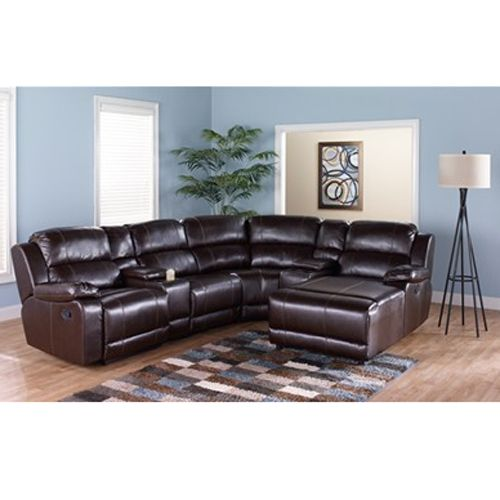 Styleline Motion Sectional in Brown   Rent to Own Living Room. 31 best Aarons Stuff images on Pinterest   Living room furniture